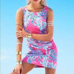 Lilly Pulitzer~Capri Pink~CATHY SHIFT DRESS~Samba~